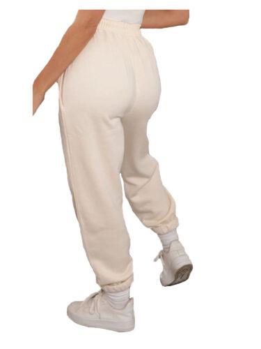 Nouveau Haut de survêtement en polaire doux Survêtement Pantalon D/'Entraînement Sports Pantalon Sweatpant
