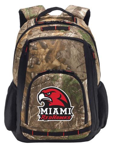 Miami of Ohio Camo Backpack REALTREE CAMO Miami University Computer Laptop Bag