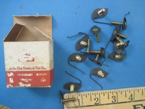 New old stock Ford molding clips 1955 Ford radiator grill center joint molding
