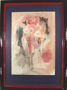 modernes-Gemaelde-unleserlich-signiert-A-G-im-Rahmen-Aus-Kunstsammlung