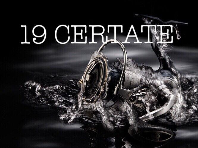 19 Daiwa CERTATE LT2500S-XH Spinning Carretes Alumi-monocasco MAGSEALED Nuevo