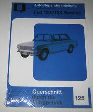 Reparaturanleitung Fiat 124 + 124 Special / Lada 1200-1500, Baujahre 1966 - 1975