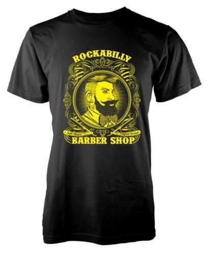 BNWT Rockabilly Barber Shop Shave Razor tijeras de pelo Adulto Camiseta S-XXL