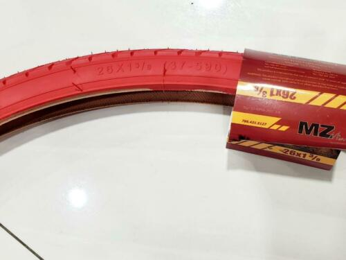 """TWO QUALITY TIRE  fits only the 26/""""chinese bike in the picture 37-590 26X1 3//8"""