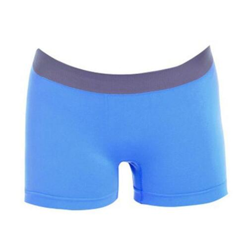 New Womens Ladies Girls PLAIN Underwear Hot Pants Brief Boxer Shorts SUN