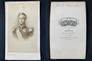 Franck, Paris, Henri Orléans, duc Aumale Vintage cdv albumen print.Henri d&#03