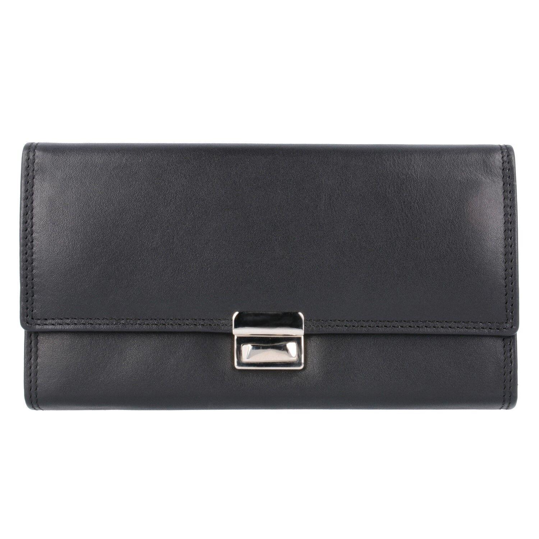 Esquire Eco Kellnerbörse Unisex Leder 18.2 cm (eco schwarz) | Garantiere Qualität und Quantität