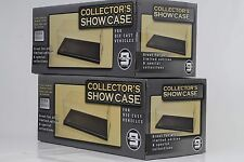 2 x Vitrine / Showcase Acryl 270 x 125 x 112 mm // ohne Auto / Figur 1:24
