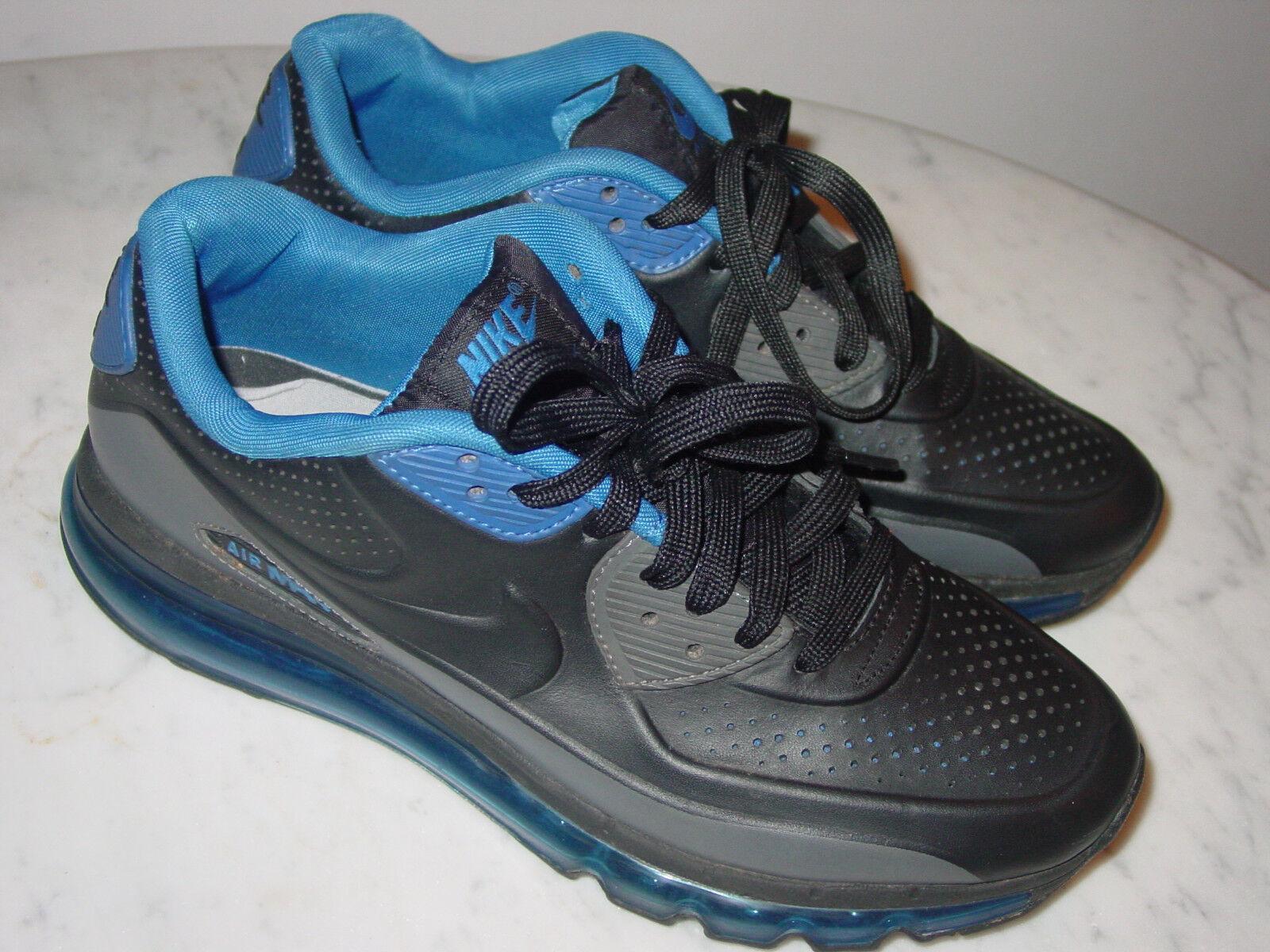 2018 Hombre nike air max 90 2018 LTR QS negro y / azul zapatillasCómodo, barato y negro hermoso moda 86ebcd