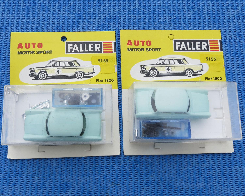 Faller AMS 5155 2 X FIAT 1800 Kit di costruzione