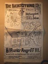 Santiago de Chile - Burschenschaft Araucania - Bierzeitung 2001 / Studentika