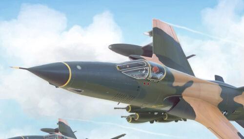 "20/"" x 24/"" F-105 Thunderchief Aviation Art Print"