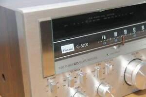 VINTAGE-SANSUI-G-5700-Pure-Power-DC-Stereo-Receiver-EXCELLENT
