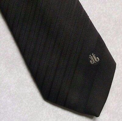 Diplomatico Vintage Cravatta Da Uomo Cravatta Crested Club Associazione Società Marrone Scuro-mostra Il Titolo Originale
