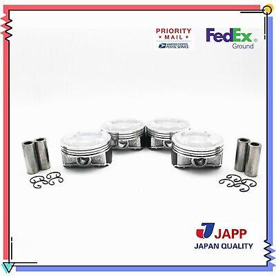 Fit Pistons and Rings 99-05 Subaru Forester Impreza Legacy 2.5L SOHC 16v EJ25