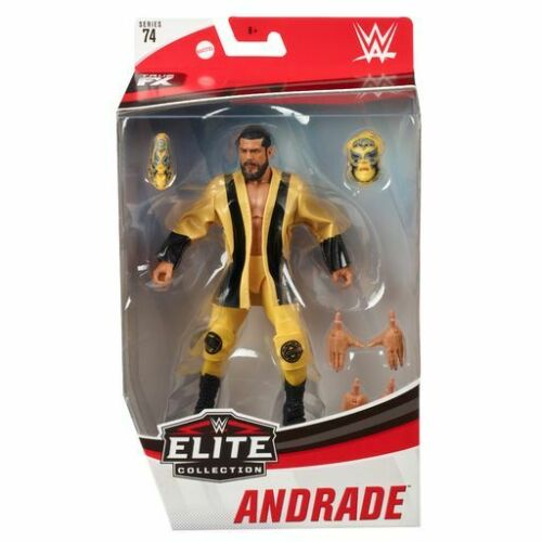 WWE Mattel Andrade cien Almas Elite Series #74 Figure Clou NAVIRES fin janvier.