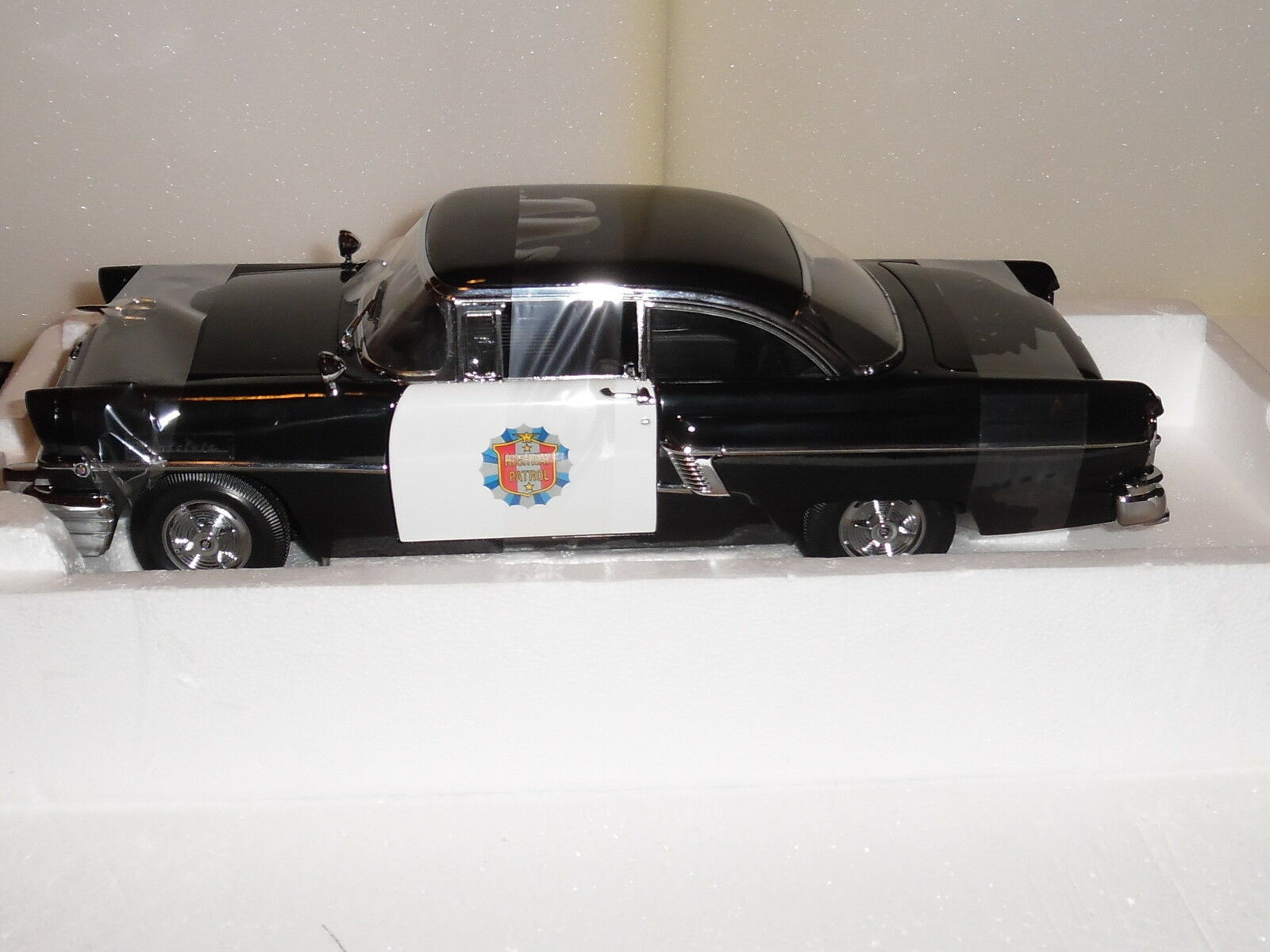 SUN STAR 1 18 SCALE 1956 MERCURY MONTCLAIR POLICE CAR (stunning looking)