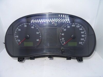 *VW POLO MK4 1 2 2002-2005 LHD INSTRUMENT CLUSTER CLOCK 6Q0920800P - AZQ |  eBay