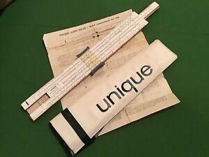 Vintage Unique Universal One Slide Rule collectors item