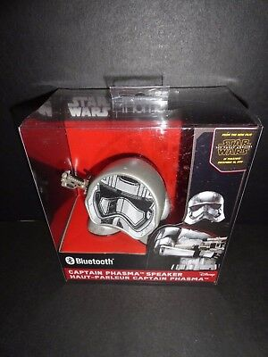 iHome Star Wars Captain Phasma Bluetooth Speakers BRAND NEW FACTORY SEALED