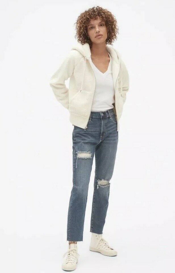 Gap teddy 396756 petite snow white womens small SOLD OUT