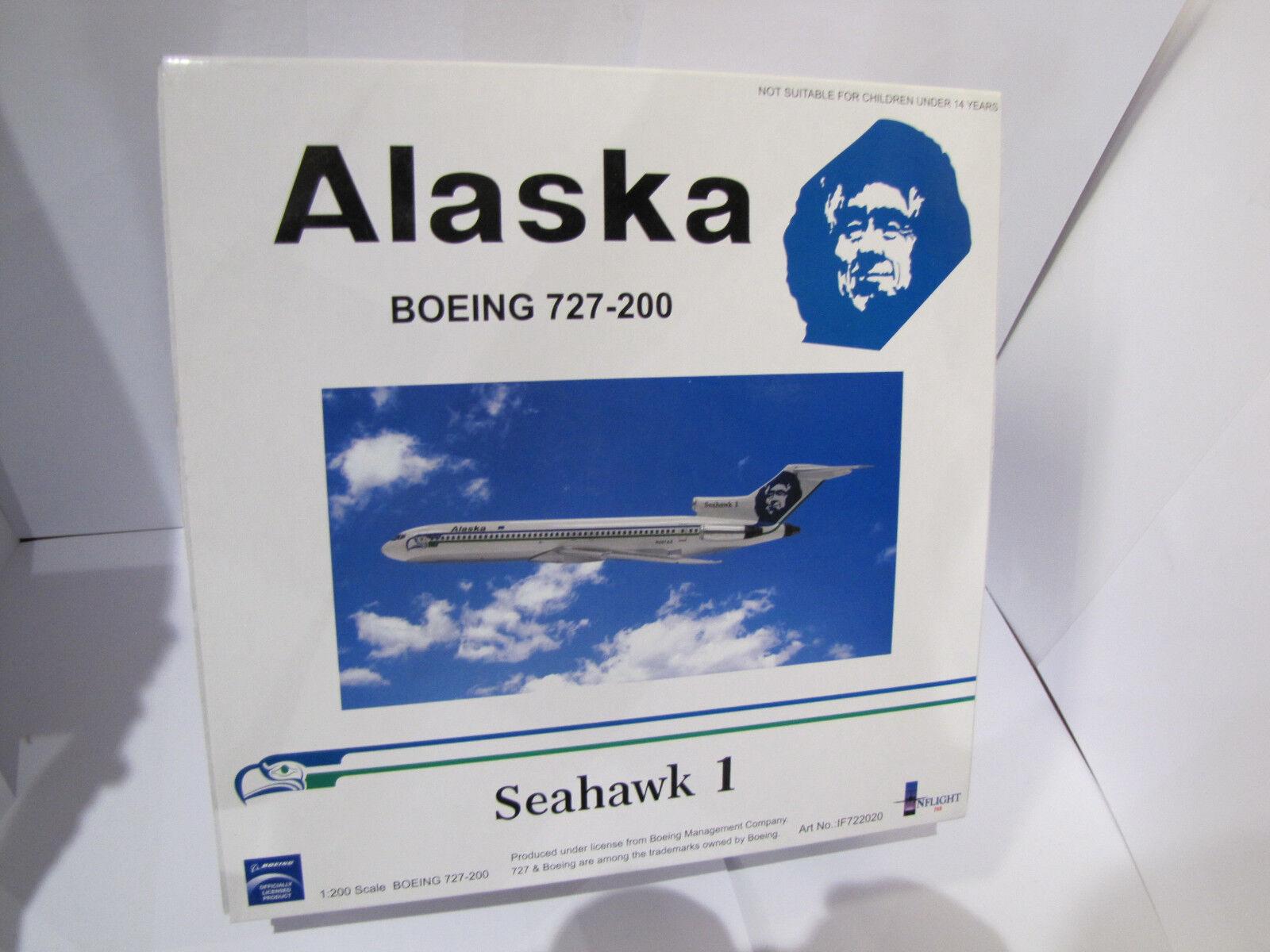 IF722020 - Inflight - Boeing 727-200 - Alaska Seahawk 1  - 1 200