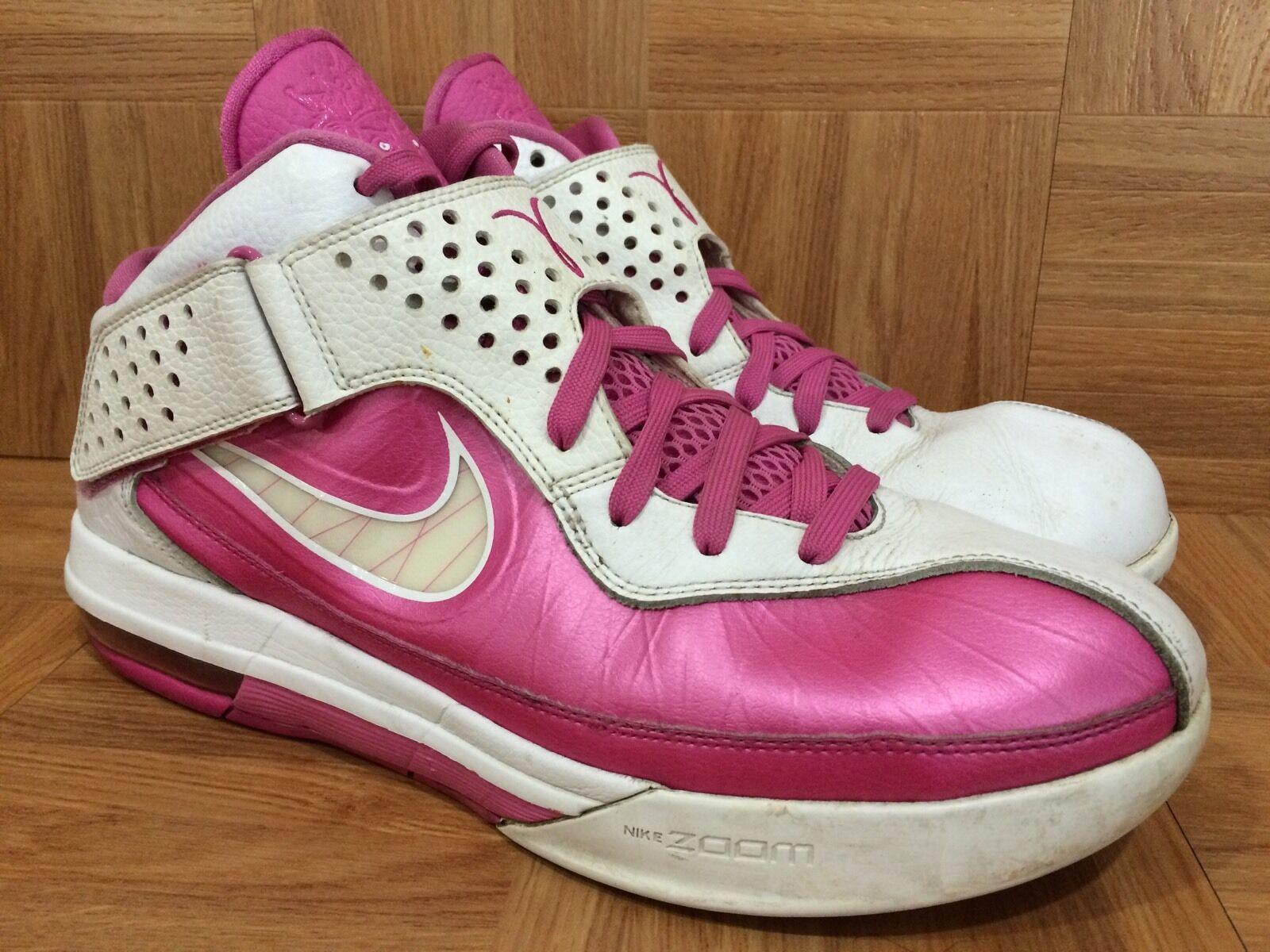 Raro nike air max soldato / 5 pinkfire s 13 454131-601 consapevolezza del cancro al seno