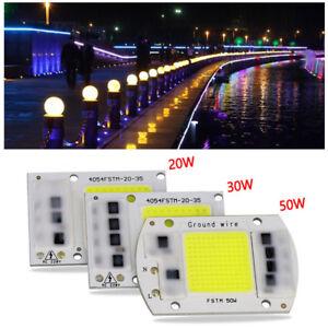 20-30-50w-LED-foco-COB-Patata-Frita-ENTRADA-INTEGRADO-CA-220v-Inteligente-IC