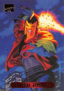 BLACK-KNIGHT-1994-Marvel-Masterpieces-Fleer-BASE-Trading-Card-07