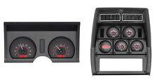 1978-82 Corvette Carbon Fiber & Red Dakota Digital VHX Analog Gauge Kit
