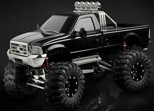 Image Is Loading Tamiya Highlift Ford F  Monster Truck Conversion