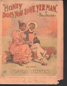 Honey-Does-You-Love-Yer-Man-1895-Newspaper-supplement-Sheet-Music