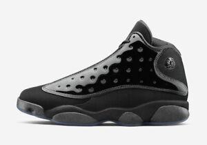 34e967540a5e92 2019 Nike Air Jordan 13 XIII Retro SZ 9 Black Cat Cap and Gown OG ...