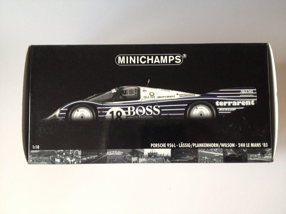 muy popular 1 18 Porsche 956L 24h Le Mans 1983 1983 1983 Minichamps 180836918  tienda en linea