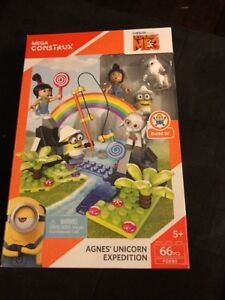 MEGA-CONSTRUX-DESPICABLE-ME-3-AGNES-039-UNICORN-EXPEDITION-FDX80-NIB-2016
