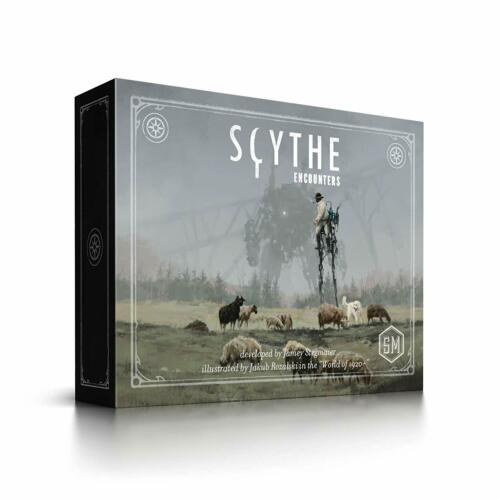 Scythe Encounters Board Game SEALED UNOPENED FREE SHIPPING