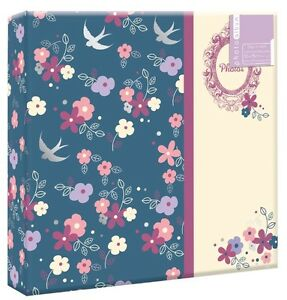"Vintage Floral Photo Album 200 4x6/"" 104 5x7/"" 80 4x6/"" Photos or Self Adhesive"