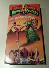Mighty Morphin Power Rangers 5 No Clowning Around VHS 1993 Saban