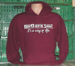 SITTING ITS A WAY OF LIFE SWEATSHIRT MAROON SKINHEAD
