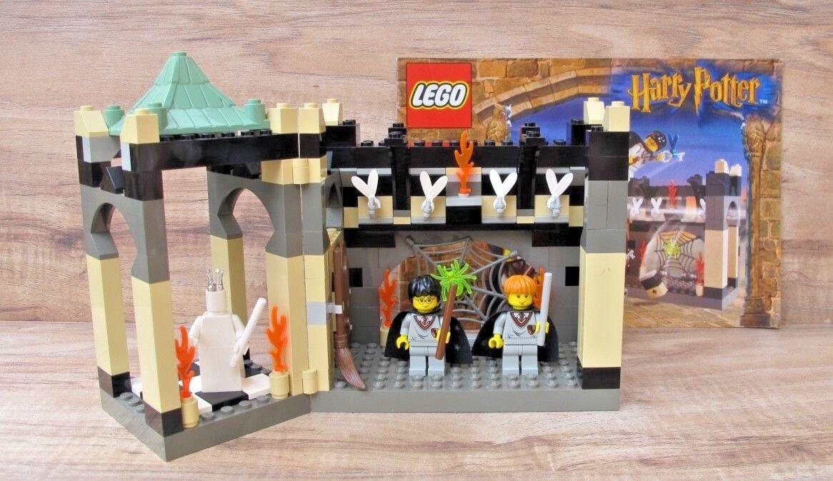 Harry Potter Lego 4704 la Cámara de las teclas con alas 100% Completo Manual Usado En Excelente Condición