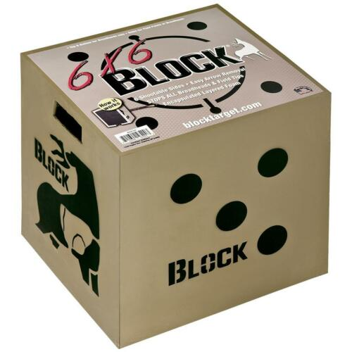 6x6 Bloc Cible-FOR Field points et Broadheads