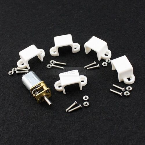 5pcs N20 Micro Motor Mount 12mm DC Gear Motor Bracket for RC Model Robot New
