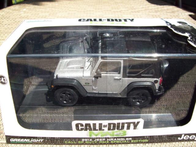 Call Of Duty Modern Warfare 3 Mw3 2012 Jeep Wrangler Special Edition 1 43