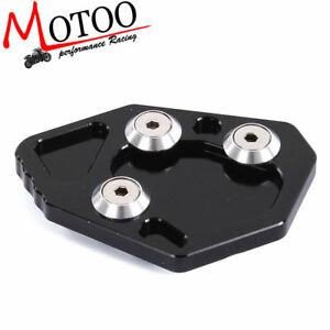 Motorcycle Kickstand Foot Side Stand Extension Pad For BMW K1200S//R K1300S//R