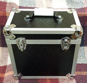 1-X-NEO-Aluminum-Black-Storage-for-50-Vinyl-LP-Records-12-034-DJ-carry-Case