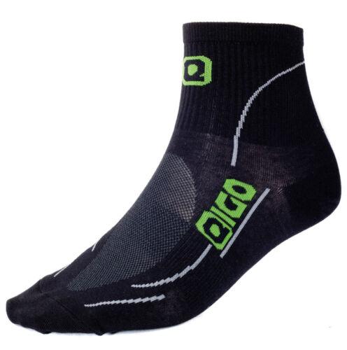 Triathlon Eigo Coolmax Performance Socks Black New Running Gym Cycling