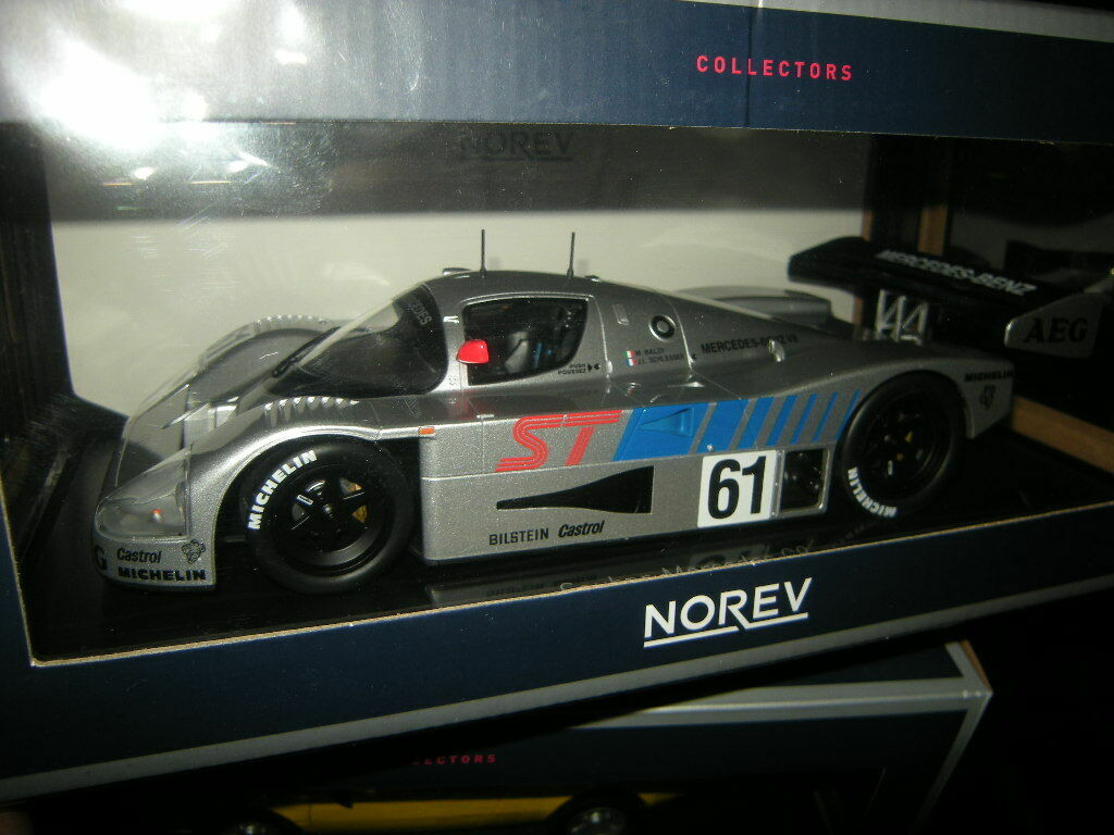 1 18 limpio norev-Mercedes c9 winner 400 km suzuka 1989 nº 183441 en OVP