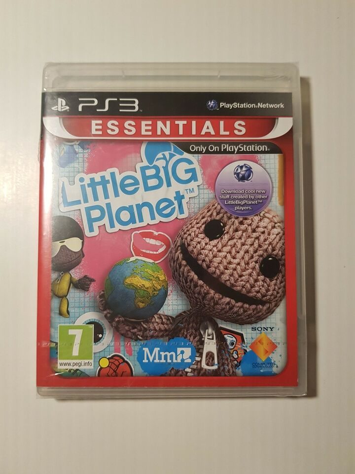 (Nyt i folie) Little big planet, PS3