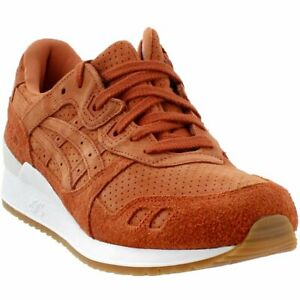 5ca8a4fdfd8e Image is loading ASICS-GEL-Lyte-III-Sneakers-Orange-Mens