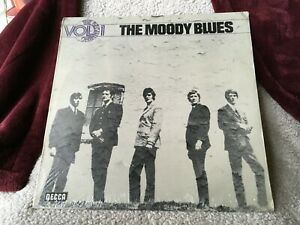 THE MOODY BLUES VINYL the beginning vol 1 LP IMPORT SEALED 1973 germany CITIES